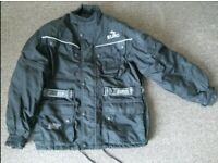 Mens motorcycle Jacket - super condition - size XLarge - Colour Black