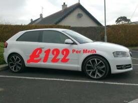 2011 Audi A3 1.6Tdi Se 3 Door in White..
