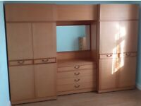 Wardrobe & Chest of Drawers