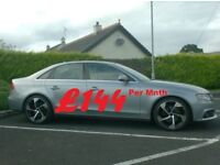 2011 Audi A4 2.0Tdi Technic, Black Leather 19inch Alloys