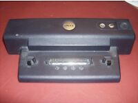 DELL LATITUDE D/PORT DOCKING STATION PRo1X 2U444 =HD062 + GENUINE DELL POWER SUPPLY AND CABLE