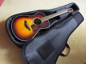 Yamaha LS6ARE Acoustic Guitar, Sunburst