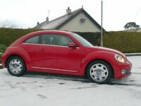 2012 Vw Beetle 2.0Tdi Design 140bhp 6 Speed, bright Red..
