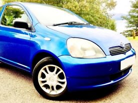 Quality Toyota Yaris. Very Low Mileage. Service History. No Expense Spared. Lowest Insurance.