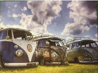 VW camper canvas