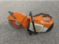 STIHL TS410 OR TS400 2 STROKE PETROL CUT OFF SAW HIRE IN LIVERPOOL
