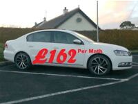 2014 Vw Passat 1.6Tdi Bluemotion Tech, low miles, In White