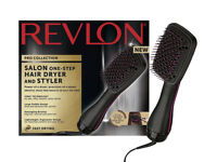 Revlon Pro Collection Salon One Step Hair Dryer & Styler - Brand New in Box