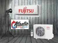 Mini Split Heat Pumps, Central Heating Systems, Fujitsu, York
