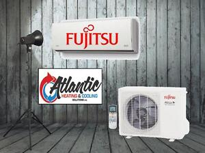 Mini Split Heat Pumps, Central Heating Systems, Fujitsu 12Yr Wty
