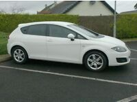 2011 Seat Leon Tdi SE, Free Tax ,, sat nav, in White!!