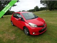 TOYOTA YARIS 1.4 D-4D ICON PLUS 5d 90 BHP (red) 2014
