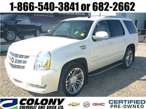 2013 Cadillac Escalade AWD, Leather, Sunroof, Rear DVD