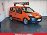 PEUGEOT BIPPER 1.2 HDI TEPEE S 5d 75 BHP £30 road tax per year (orange) 2011