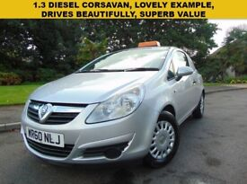 Lovely 2011 Diesel Vauxhall Corsavan 1.3CDTi Drives Beautifully Lovely Example