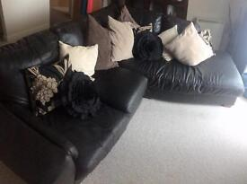 Very Dark Brown Sofa