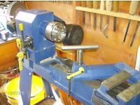 Woodturning Lathe with everything to get you started.