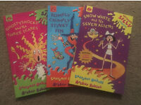 3 Seriously Silly Childrens books - Very good condition