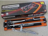 HEAVY DUTY MAGNUSSON TILE CUTTER 500mm FLOOR WALL BALL BEARING SLIDER BOXED LIKE NEW