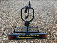 Quality tow bar fitting bike rack for sale two bikes