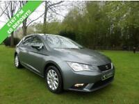 SEAT LEON 1.6 TDI SE 5d 105 BHP (grey) 2014