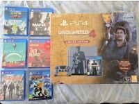 1Tb UNCHARTERED PS4 + GAMES + ACCESSORIES... ALL IN EXCELLENT CONDITION