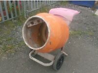 BELLE MINIMIX PETROL/ELECTRIC 240v CEMENT MIXER HIRE IN MERSEYSIDE