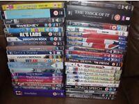 JOB LOT DVD'S - PLUS NEWSPAPER FEEEBIES.