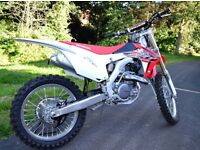 Honda CRF450R dirt bike,motocross, 2016 NEW