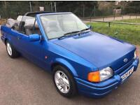Ford Escort 1989 Cabriolet 1.6i Blue XR3i