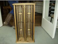 Solid Pine CD or DVD Tower Rack £23 Very,very good condition