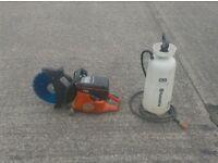 "HUSQVARNA K760 14"" 2 STROKE PETROL CUT OFF SAW (cw New Dia Blade & Dust Bottle)"