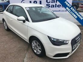 AUDI A1 1.2 TFSI SE 3d 84 BHP A GREAT EXAMPLE INSIDE AND OUT (white) 2012