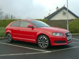 2008 Audi A3 1.9tdi, Facelift Model, Bright Red..