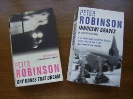 Peter Robinson Inspector Banks Series Consecutive titles 7 & 8