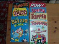 COLLECTION VINTAGE 60's & 70's COMICS & BOOKS