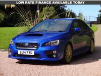 SUBARU WRX 2.5 STI TYPE UK 4d 300 BHP (blue) 2014