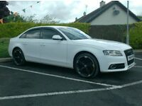 2010 Audi A4, 2.0Tdi, In White, Black edition Styling, leather,