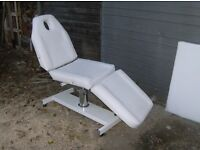 massage universal table etc great condition plus free portable fold up table £110