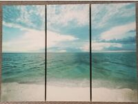 SET OF 3 SEASCAPE PICTURES