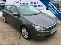PEUGEOT 308 1.2 E-THP ACTIVE 5d 130 BHP A GREAT EXAMPLE INSIDE AND OUT (grey) 2014