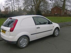 ford fiesta van dtci mot economical clean and tidy £825
