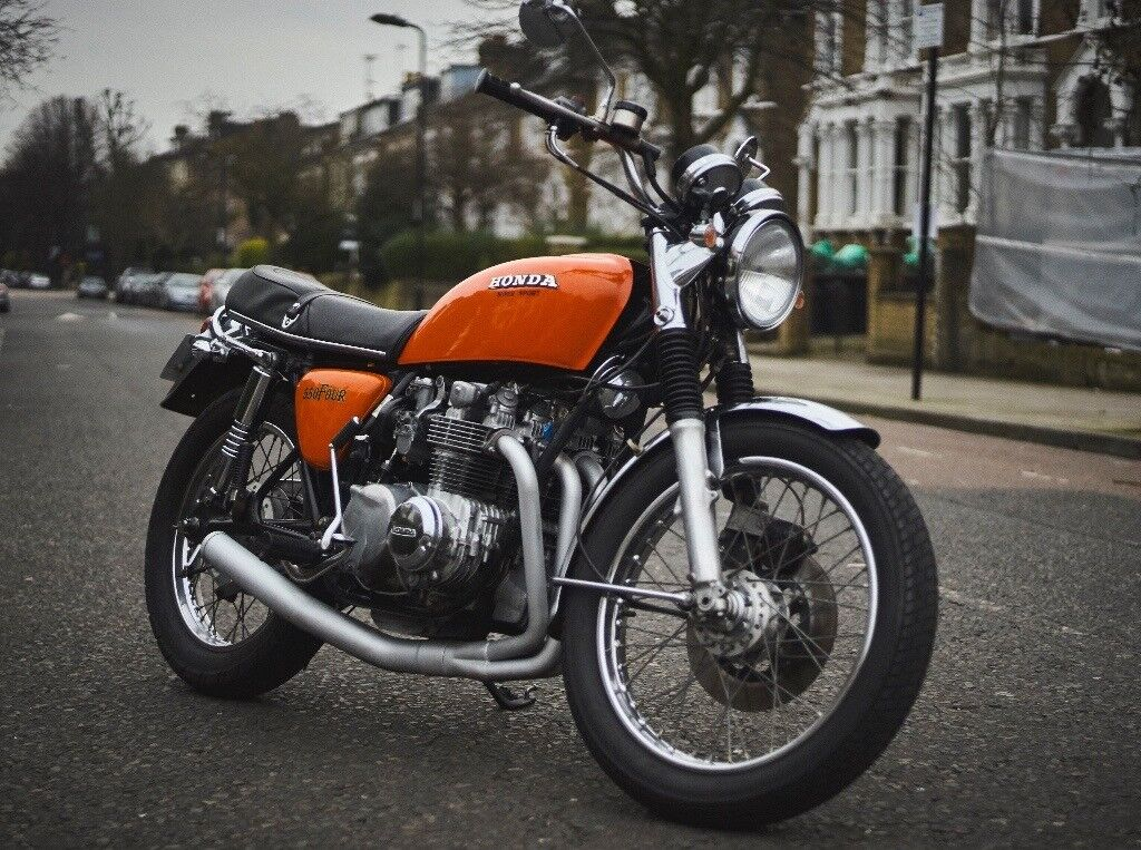 1976 honda cb550 four orange in finsbury park london gumtree. Black Bedroom Furniture Sets. Home Design Ideas