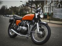 1976 HONDA CB550 FOUR ORANGE