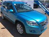 VOLKSWAGEN TIGUAN 2.0 SPORT TDI 5d 170 BHP A GREAT EXAMPLE INSIDE AND OUT (blue) 2009