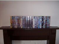 Collection of classic Manga/Anime films on video. (VHS).