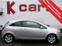 ONLY 50,000 MILES 2009 VAUXHALL CORSA 1.2 SXI FULL DEALER SERVICE HISTORY