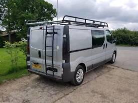 Vauxhall vivaro Crew Cab / Day Van