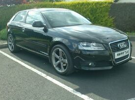2010 Audi A3 1.9tdi Se 3 Door, 18inch TTrs alloys
