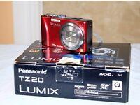Panasonic Lumix TZ20 Compact Video/Photo Camera